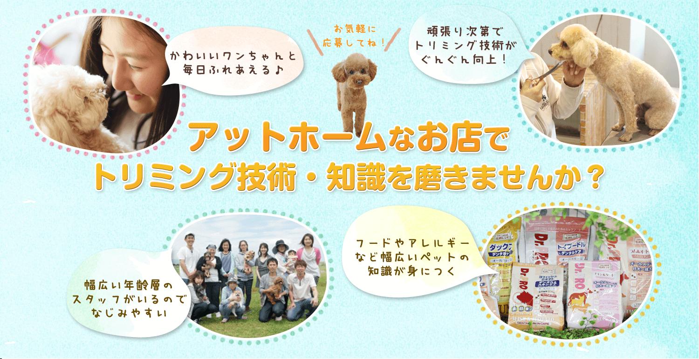 大阪寝屋川市枚方市ペットはうすはともに働くスタッフを募集中です